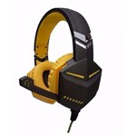 Fone de Ouvido Headset Gamer P2 para Ps4 Xbox One Notebook Macbook com Microfone Embutido