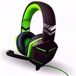 Fone de Ouvido Headset Gamer P2 para Ps4 Xbox One Notebook Macbook com Microfone