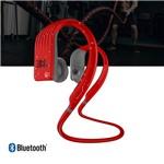 Fone de Ouvido Jbl Endurance Jump Bluetooth Esportivo Vermelho
