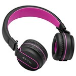 Fone de Ouvido Multilaser Ph216 Pulse Fun Bluetooth Series Preto Rosa