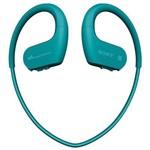 Fone de Ouvido Sem Fio Sony NW-WS623/LM com 4GB/Bluetooth - Azul