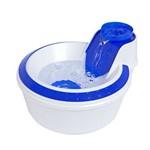 Fonte Bebedouro Petlon Água Corrente Cães e Gatos 2 Litros Azul - 220V
