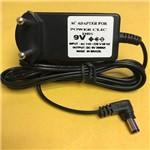 Fonte Carregador P/ Power Click Amplificador de Fones 9v 200ma Bivolt