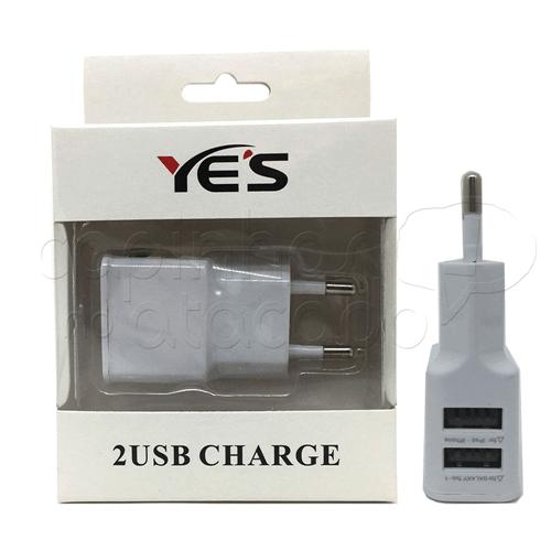 Fonte / Carregador USB com 2 Entradas EX-2100