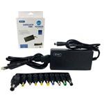 Fonte para Notebook Universal KP-525A 10 Pontas 12/15/16/18/19V 4.5A Bivolt com Ajuste de Voltagem