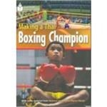 Footprint Reading Library: Making a Thai Boxing Champion 1000 - American