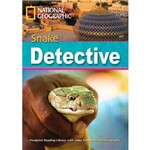 Footprint Reading Library - Level 7 2600 C1 - Snake Detective - American English + Multirom