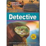 Footprint Reading Library - Level 7 2600 C1 - Snake Detective - British English + Multirom