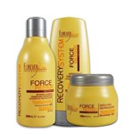 Forever Liss Force Repair Kit Cabelos Danificados e Quimicamente Tratados Force Repair