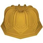 Forma de Silicone com Furo 23,3 Cm Catedral Amarela