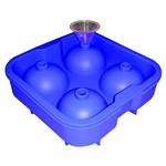 Forma de Silicone para Bolo Tipo Palito Azul