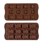 Forma de Silicone para Bombom de Chocolate