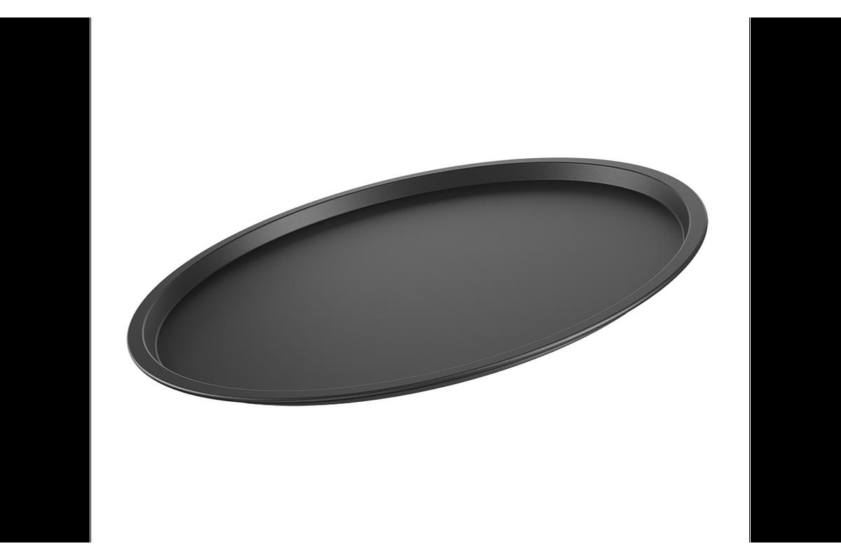 Forma para Pizza Sem Furos Ø33 Cm Ø 33 X 1 Cm Grafite Brinox