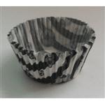 Forminha de Cupcake Alvinegro - 45 Unidades