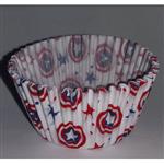 Forminha de Cupcake América - 45 Unidades