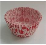 Forminha de Cupcake Corações - 45 Unidades