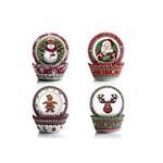 Forminhas para Cupcake 100 Unidades Natal Ibili