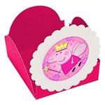 Forminhas para Doces Peppa Pig Princesa Pink 10 Unds