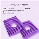 Forrações de Assento - Caixa de Ovo Espuma (quadrada - Orifício Removível) - Bioflorence - Cód: 107.0192