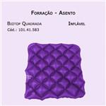 Forrações de Assento - Quadrada Biotop (inflável) - Bioflorence - Cód: 101.0583