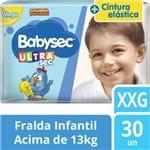 Fralda Babysec Galinha Pintadinha Ultrasec Mega XXG 30 Unidades