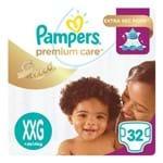 Fralda Descartável Pampers Premium Care XXG 32 Unidades