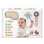 Fralda Ecológica Descartável P Herbia Baby 24 Uni