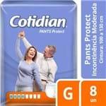 Fralda Geriátrica Cotidian Pants Protect G 8 Unidades