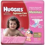 Fralda Huggies Supreme Care Soft Touch Mega Feminina Tamanho Xg com 26 Unidades