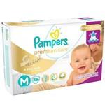 Fralda Pampers Premium Care M com 48 Unidades