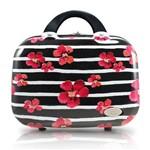 Frasqueira Floral Bossanova Policarbonato ABS Preto - Jacki Design - Jacki Design - Jacki Design