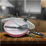 Frigideira Ceramic Antiaderente 24cm Casa Dona Vermelha