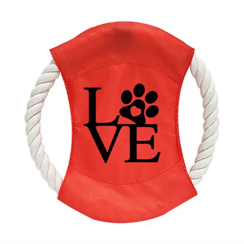 Frisbee de Cachorro para Sublimação na Cor Vermelho - Tamanho 20cm