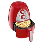 Fritadeira Elétrica Mondial Family Af14 Capacidade de Até 3.2l 220v - Vermelha-p