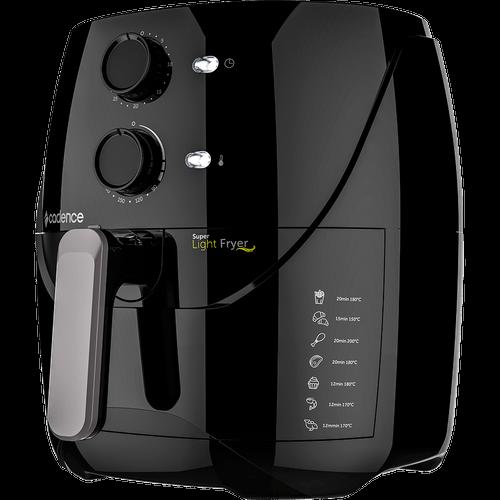 Fritadeira Elétrica Sem Óleo Cadence, Super Light Fryer, 3,2 Litros, Preta - FRT550 - 220V