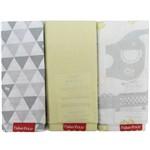 Fronha Neutra Bichinhos Kit com 3un. - Fisher-price