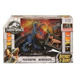 Ftd09 Jurassic World Destrutosauros Sort Velociraptor
