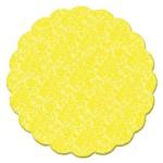 Fundo Decorado Amarelo No9 C/100 - Cromus