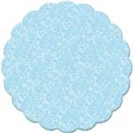 Fundo Decorado Azul Claro No9 C/100 - Cromus