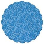 Fundo Decorado Azul Marinho No9 C/100 - Cromus