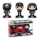 Funko Pop Star Wars 3Pack Death Star Gunner, Officer e Trooper