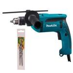 "Furadeira de Impacto 1/2"" 760 Watts com Kit de Brocas - HP1640 - Makita"