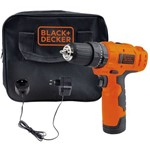 Furadeira e Parafusadeira Bivolt 12v Black+decker Hp12-br