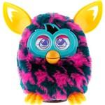 Furby Boom Sweet Rosa com Manchas Azul Marinho - Hasbro