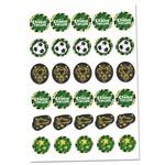 Futebol Mini Personagens Decorativos C/30 - Regina