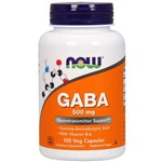 Gaba 500mg (200 Caps) - Now Foods