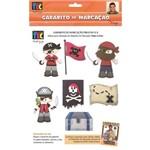 Gabarito Marcação Piratas A/B 23x31 Gm039 Toke e Crie