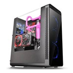 Gabinete Gamer View 27 Preto Led Azul Ca-1g7-00m1wn-bu Thermaltake
