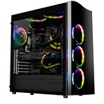 Gabinete Gamer View 22 Tg Preto Ca-1j3-00m1wn-00 Thermaltake