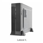 Gabinete K-MEX Matx GM01R2 C/Fonte 200W Preto 1Baia | InfoParts